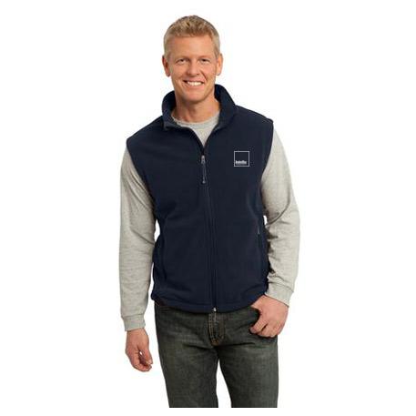 700defc40411 Men s Navy Fleece Vest – AvalonBay Swag Store